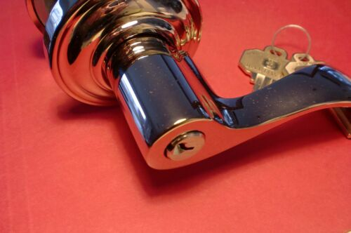 Baldwin Hardware 5225.055.RENT Keted entry Lever
