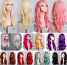 Lady Fashion 60cm Full Curly Wigs Cosplay Costume Anime Party Hair Wavy Long Wig