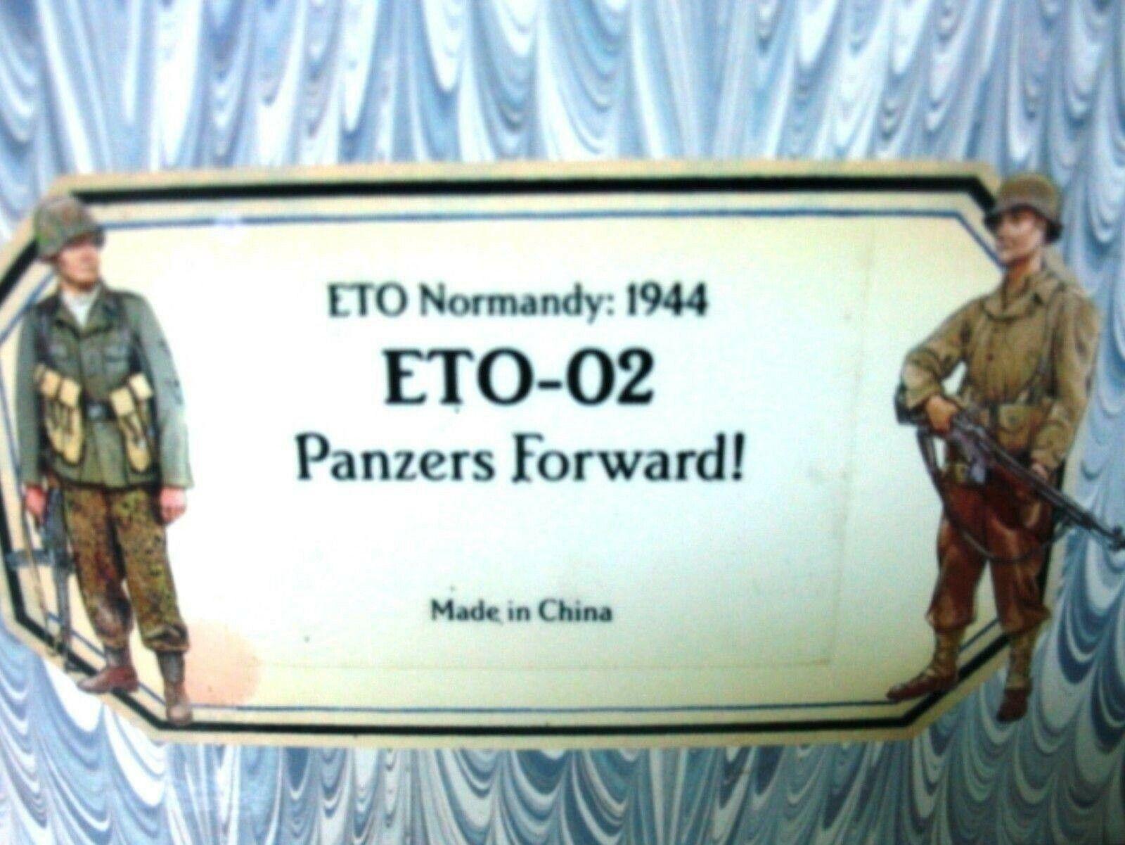 WOW EXTREMELY RARE Old Northwest Trading D Day Eto02 SS 6th Panzer Crewmen BNIB