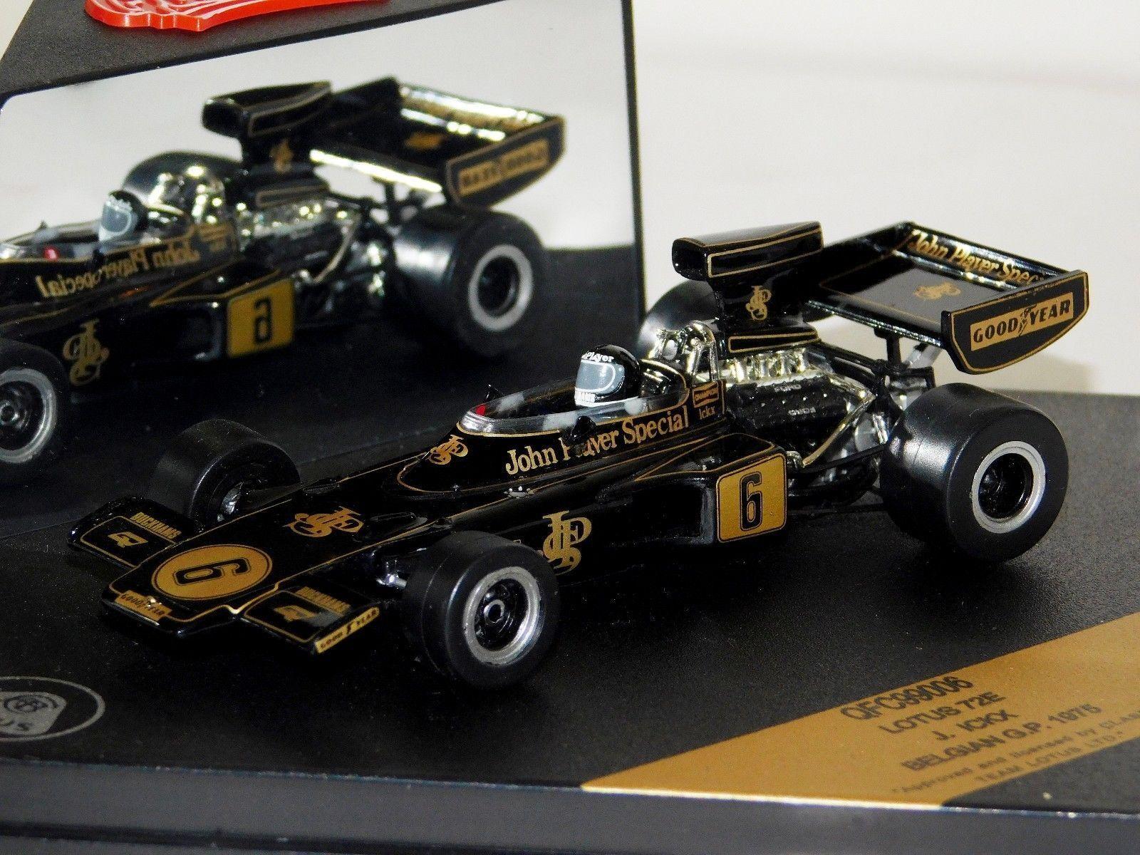 72E Lotus JPS  6 J. pela belga GP GP GP 1975 Quartzo QFC99006 1 43 463e25