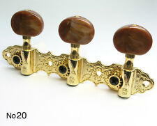 Gold Classical Oval Nylon String Guitar Tuners No20