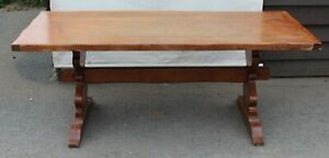1940s-Quality-Oak-Refectory-Table