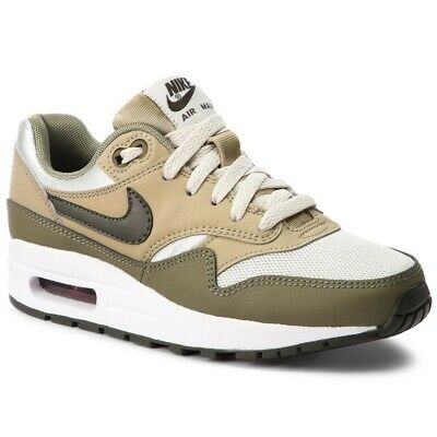 Brioso Juniors Nike Air Max 1 Gs Sneakers Verde Bianco-mostra Il Titolo Originale