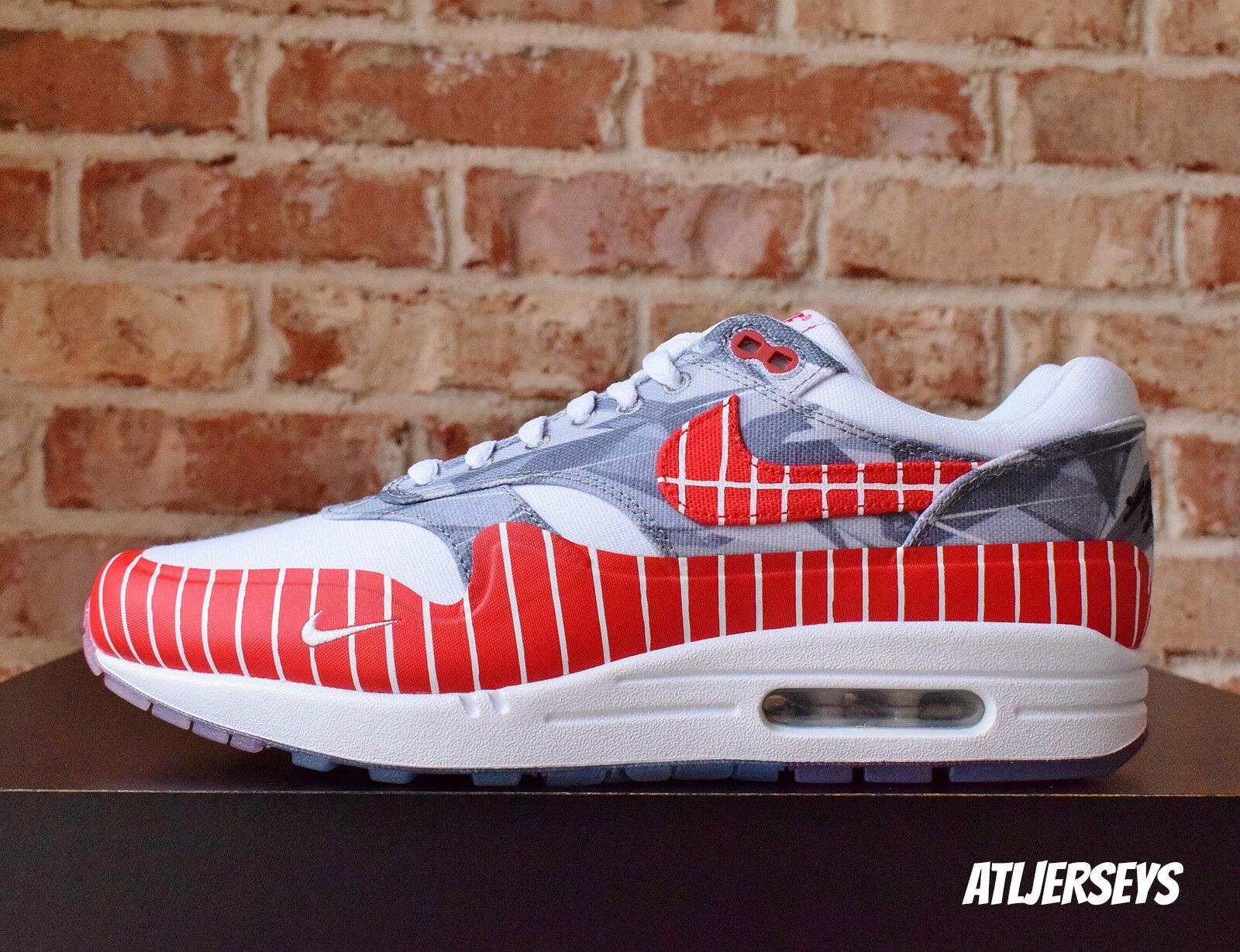 Nike Air Max 1 LHM Latino History Month Wasafu Red Los Primeros AH7740-100