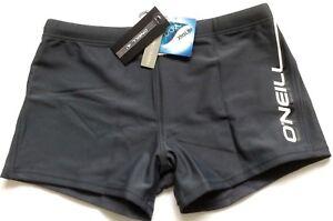 O-039-Neill-Pb-Logo-Calzas-Pantalones-Cortos-de-Natacion-para-playa-gris-7-15-Anos-BNWT