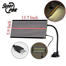 PDR Paintless Dent Removal Repair USB LED Line Board Light Scratch Reflector Set