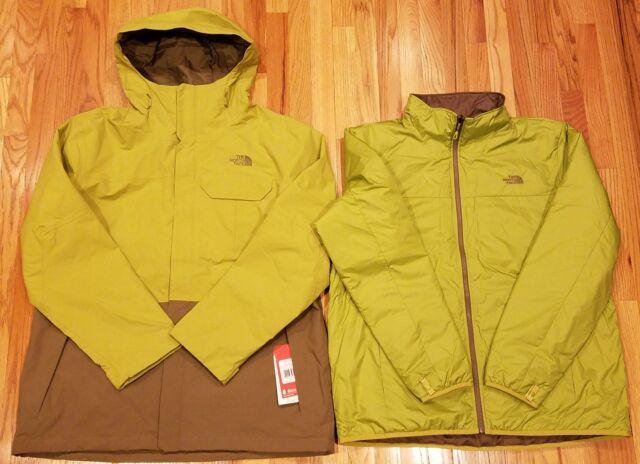 The North Face Mens Garner Triclimate Jacket Sz 2xl Green Nfoa2titlwa Thespot917