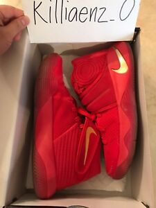 pretty nice 525bd c18b9 Details about Nike Kyrie 2 LMTD Gold Medal University Red/Metallic Gold  838639-676 Men's US 9