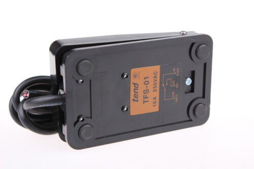 Black Single Action On Off Floor Stomp Foot Switch AC 250V 10A