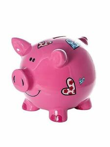 Mousehouse-Adult-Kids-Large-Pink-Pig-Piggy-Bank-Money-Box-with-Hearts-for-Girls