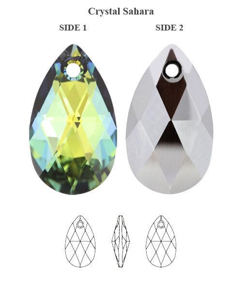 9a2813b7c7 Black Friday Deal 30 off Genuine Swarovski 6106 Crystal Sahara 16mm  Pendants for sale online | eBay