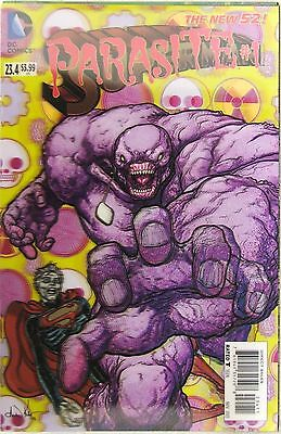 Superman Parasite >> Dc Comics Superman 23 4 Parasite 1 Lenticular Cover New 52 1st Print Ebay