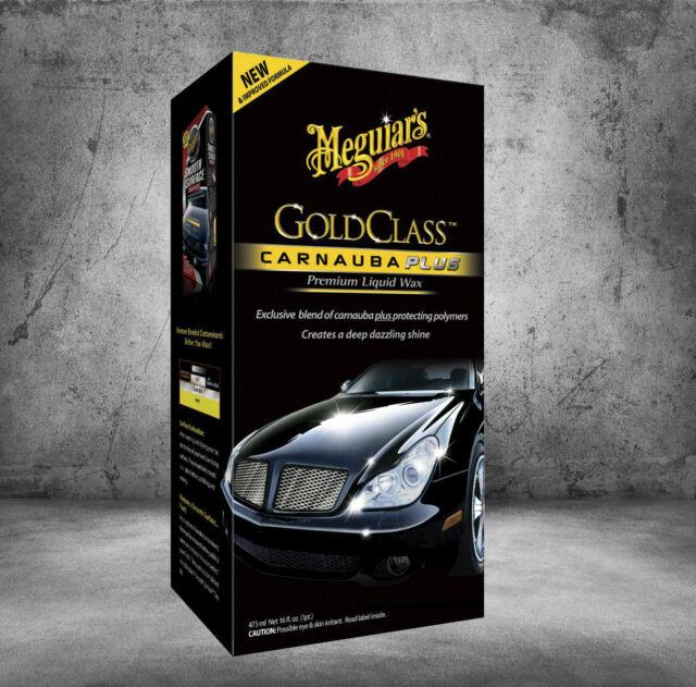 Meguiars Gold Class Carnauba Plus Premium Líquido Cera Coche Cera 473ml G7016EU
