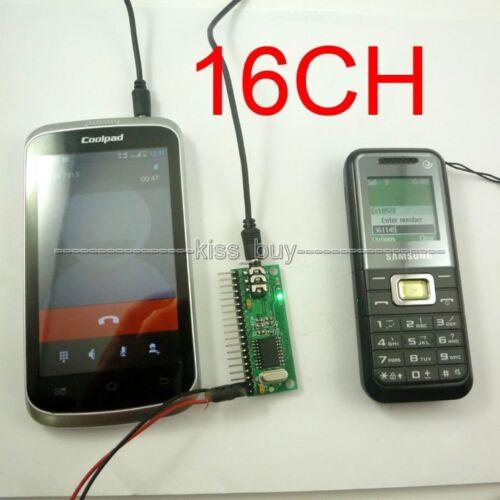 16CH MT8870 DTMF Voice Decoder Controller Module for Arduino UNO r3 DUE MEGA2560