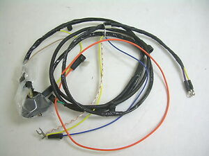 details about 1967 impala belair biscayne engine wiring harness 283 327 warning lights no ac Crown Victoria Wiring Harness image is loading 1967 impala belair biscayne engine wiring harness 283