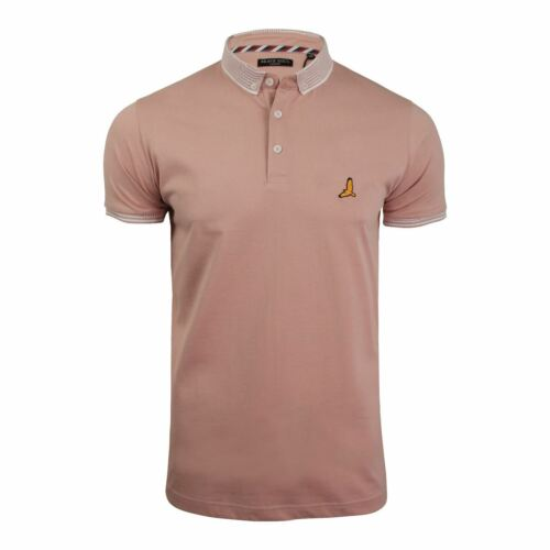 Brave Soul Glover Mens Polo T Shirt Cotton Collared Short Sleeve Casual Top
