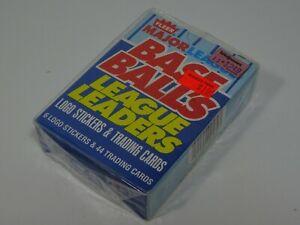 1988-Fleer-Major-League-Base-Ball-039-s-League-Leaders-Sealed-Box-44-Trading-Cards