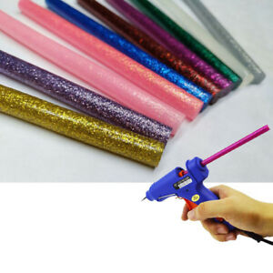30Pcs-DIY-Colorful-Hot-Melt-Glue-Sticks-Heating-Adhesive-Art-Crafts-Repair-Tool