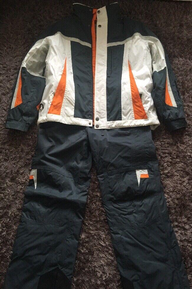 Men's Ski Suit Size Large by Crane Snow - COOL ZONE Snow Is Life RRP  - VGC