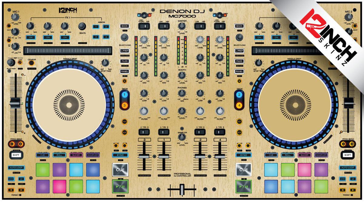 Denon MC7000 MC7000 MC7000 oro Cepillado De La Piel 0afe09