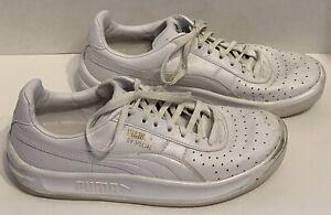 Puma GV Special Classic Sneaker-Men s Size 7 White 883365527647  a5d68f681