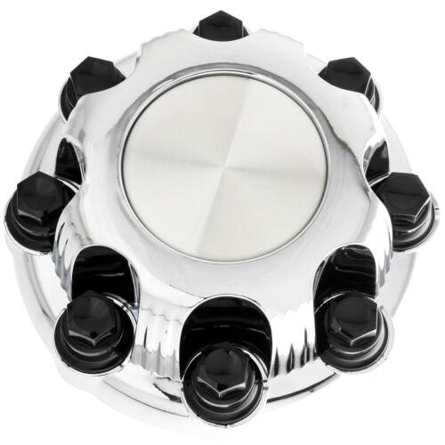 """1 PC fits GMC 8 Lug CHROME Center Cap For 16/"""" Steel Wheel Rim Bolt On Hub Skin"""
