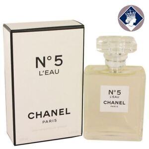d4fff5352e9 Chanel No.5 L eau 100ml 3.4oz Eau De Toilette Spray Perfume ...