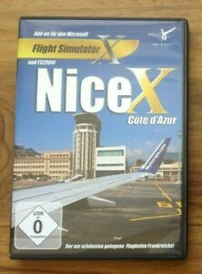 NICE-X-PC-CD-ROM-Add-on-Flight-Simulator-SIM-2004-amp-X-FS2004-FSX-Gratuite-au-Royaume-Uni-p-amp-p