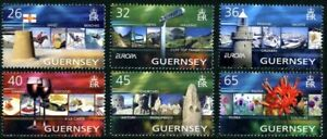 GUERNSEY-2004-EUROPA-HOLIDAYS-SET-OF-ALL-6-COMMEMORATIVE-STAMPS-MNH