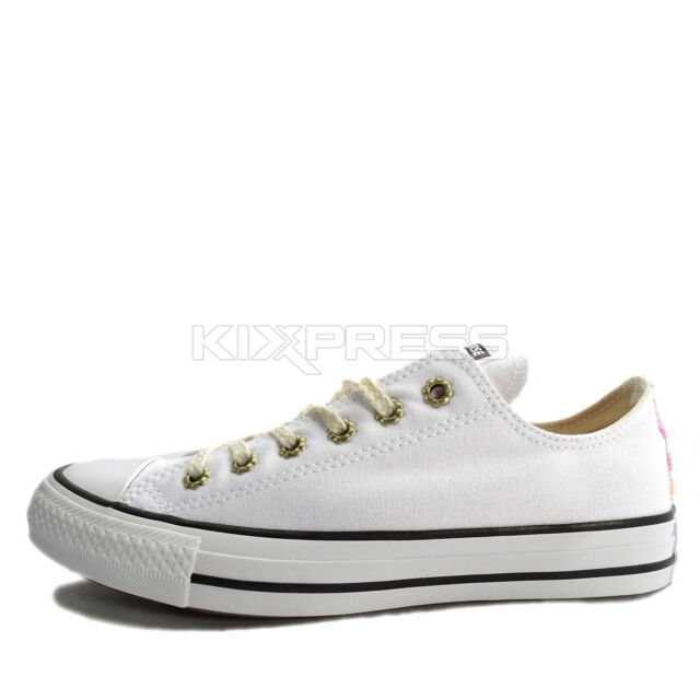 Converse Chuck Taylor All Star [555884C] Women Casual Shoes WhiteGold