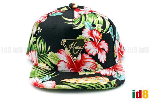 Hater Snapback Summer Flowers Rainforest Bright Fashion Adjustable Hat Cap