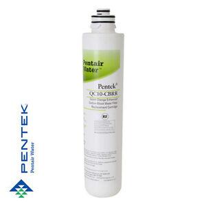 Pentek Qc10-cbrr Cartouche filtrante améliorée pour bloc de charbon actif à changement rapide 51678785430