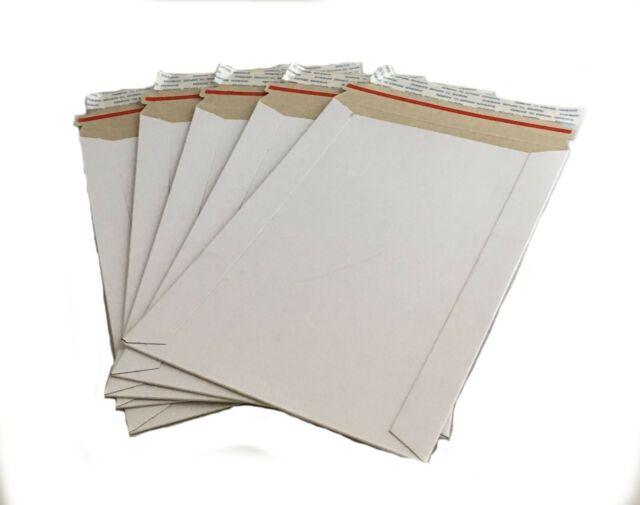 200-11x13.5 Cardboard Envelope Mailers Flats Self-Seal Photo Shipping