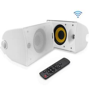 Pyle-Waterproof-Wall-Mount-Speakers-Indoor-Outdoor-Weatherproof-Speaker-System