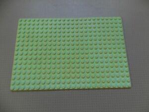 Genuine Lego Base Plate Building Board 8 x 24 Studs Green 3497