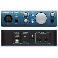 Presonus Audiobox iONE, scheda audio usb 2.0, in mic, in instrument, PC/mac/iOS