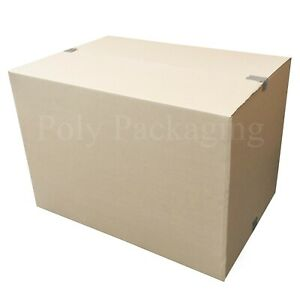 """Removal /& SHIPPING 20 x Strong /& X-Large 25x19x22/"""" Cardboard Boxes For Storage"""
