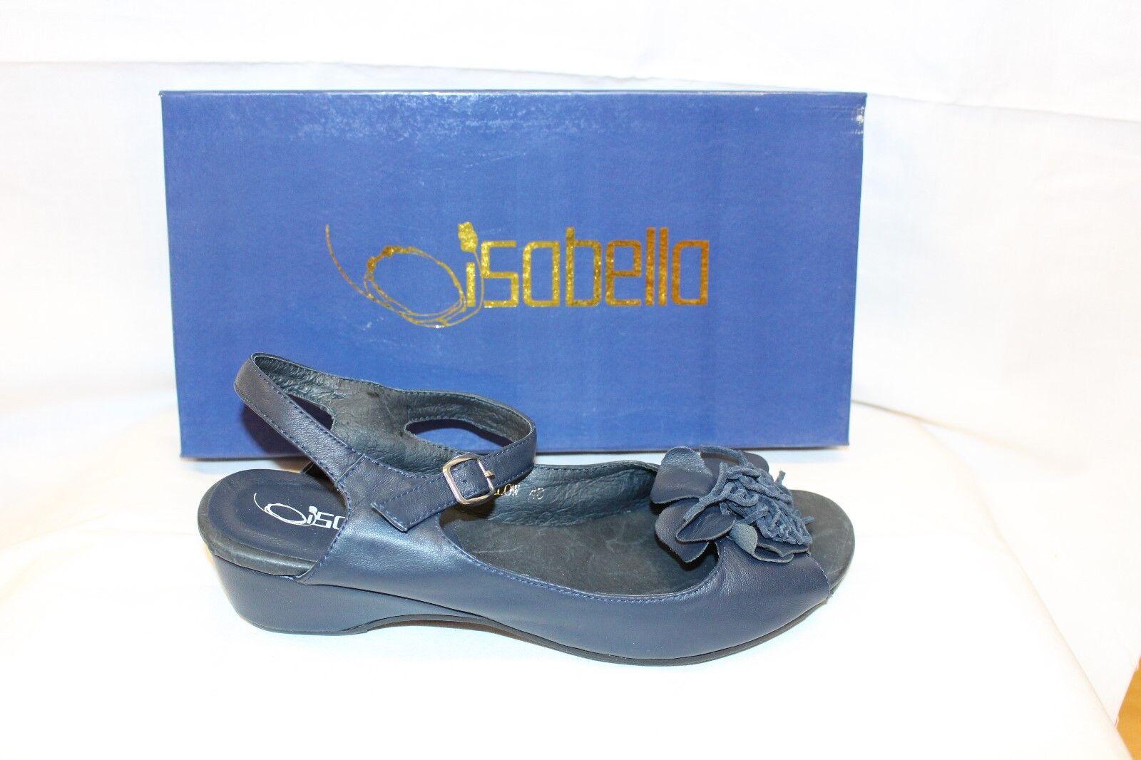 LADIES SHOES/FOOTWEAR - Isabella Harlow navy sandal