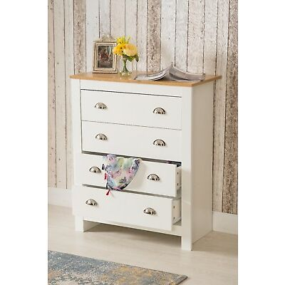 Bedroom Furniture 2/3 Door Wardrobe Bedside Table Chest of Drawer White/Grey set