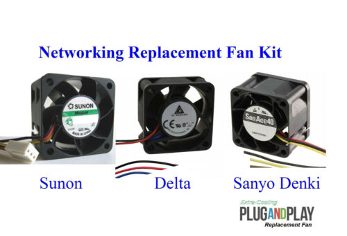 1x Quiet Version Replacement fan for Brocade 300 DS-300B 60-0201106-02