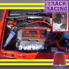 92-98 VOLKSWAGEN JETTA GLX CORRADO SLC 2.8 2.8L VR6 COLD AIR INTAKE KIT Blue Red