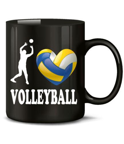 I Love Volley Fan Tasse Gobelet Cadeau D/'Anniversaire Accessoires vous l/'homme femme