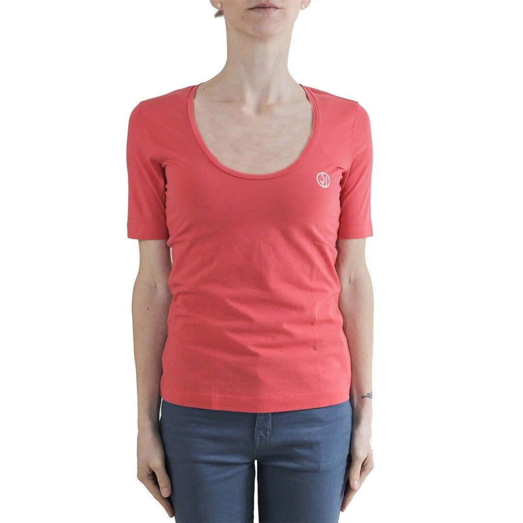 Armani Jeans T-Shirt damen Col vari tg 40   -29 % OCCASIONE