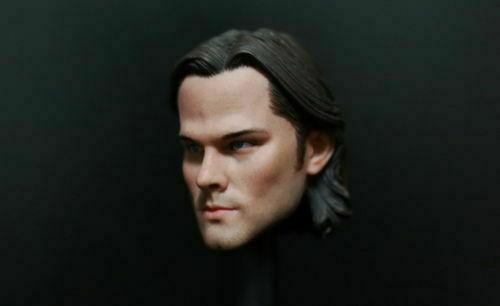 1//6 Sam Winchester Jared Padalecki Male Head Model Fit 12/'/' Action Figure Toys