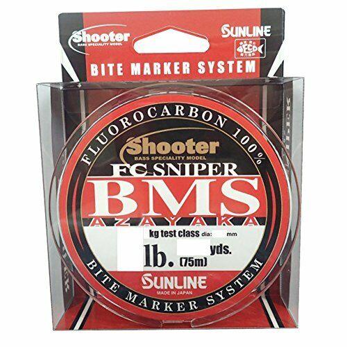 Sunline Shooter FC Sniper BMS Azayaka 14Lb 75m From Japan