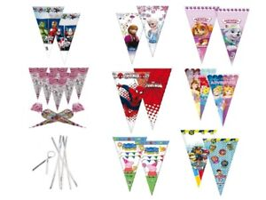 Cone-Party-Cello-Bags-Sweet-Candy-Cones-Birthday-Gift-Favours-Bag-with-TIES