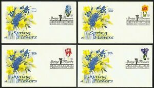3900-3903-37c-Spring-Flowers-Art-Craft-FDC-ANY-4-FREE-SHIPPING