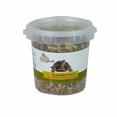 Complete Turtle & Terrapin Food 60g - 550g, Shrimp, Krill, Fish, Earthworm