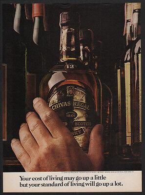 Flowers VINTAGE ADVERTISEMENT 1997 CHIVAS REGAL Blended Scotch Whisky Bees
