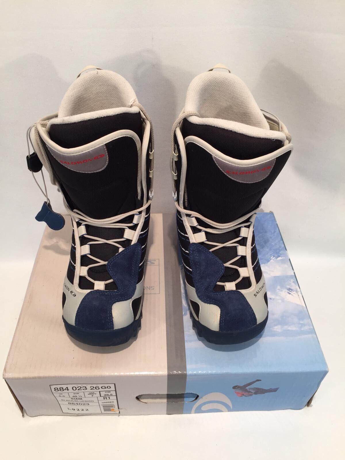 "Salomon Siam Snowboard Schuhe ""Siam"" Gr.7 40 1 3 - Neu"